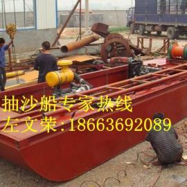 河南南阳8寸泵射吸式抽沙船价格实惠