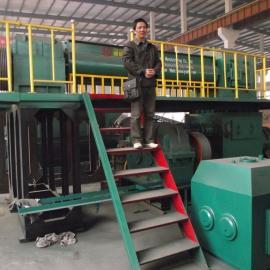 双级真空挤出机、双级真空挤砖机、液压顶车机、自动落板机、液压
