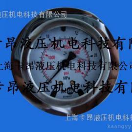 超高压耐震不锈钢压力表