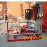水轮机驱动平衡式泡沫比例混合装置