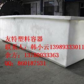 厂家直销,2500L塑料方桶,嘉兴2吨K型桶,方桶