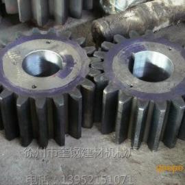 选矿球磨机小齿轮  锻钢调质