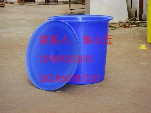 供应路桥300L塑料圆桶,400L