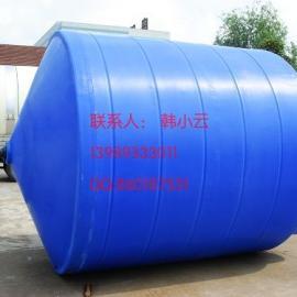 供应15吨尖底水箱,慈溪15000锥底排液塑料桶