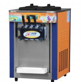 广绅BJ188S台式商用冰淇淋机 三头雪糕机软冰激凌机