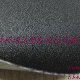 阻燃防老化皮革纹PVC夹网布汽车内饰布