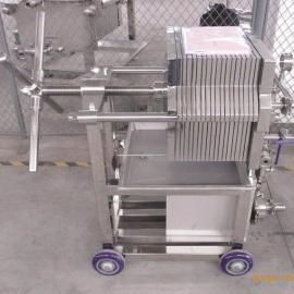 CXAS-1-1不锈钢板框压滤机