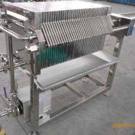 CXAS-1-6Z自动压紧不锈钢板框压滤机