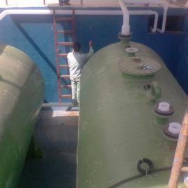 PVDF/FRP 复合HF、HNO3混合废液收集罐