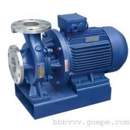 上海ISW65-160卧式清水泵/不锈钢清水泵
