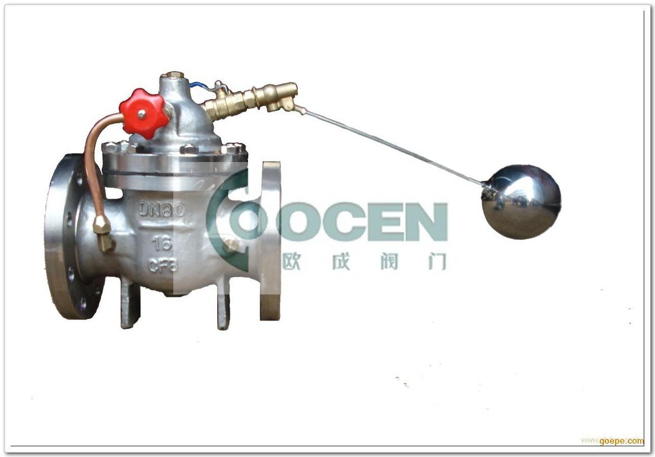 遥控浮球阀能有效地控制水塔或水箱液面
