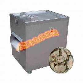 山东不锈钢电动切鱼机,鲜鱼切割机
