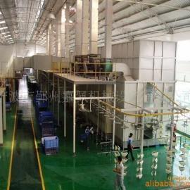 供应优质宁波悬挂链喷塑线、宁波喷淋式前处理、干燥炉喷粉烘干线