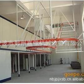 生产悬挂喷漆生产线,悬挂喷漆流水线,悬挂喷漆设备,吊空喷涂
