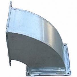 通风设备/白铁加工非标、标准定制风管配件/45度方弯头