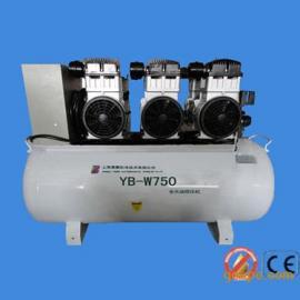 环保静音无油空气压缩机YB-W750