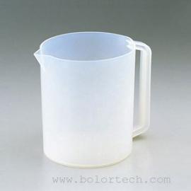 1511-1000,1511-3000 PFA带柄烧杯