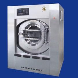 洗衣厂用全自动变频洗脱两用机,100公斤洗脱机