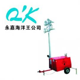 全方位移动拖车式照明灯塔 SFW6130-升降9米/10米-发电机照明车