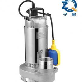 QDX型中进水自带浮球全不锈钢潜水电泵 _微型清水泵_