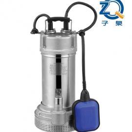 QDX型自带浮球不锈钢清水泵(下吸式)潜水泵_上海潜水泵