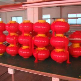 供应塑料400大LED红灯笼、节日装饰灯笼