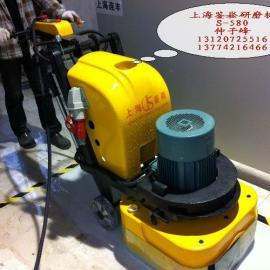 上海鉴崧大型石材翻新机石材打磨机晶面机厂家直销