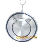 不锈钢圆片式止回阀