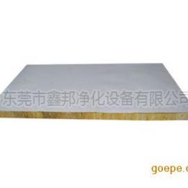 厂家供应直销岩棉夹芯板|岩棉彩钢板|岩棉夹芯彩钢板