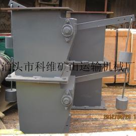双层重锤翻板卸灰阀、质优价廉科维矿山制造