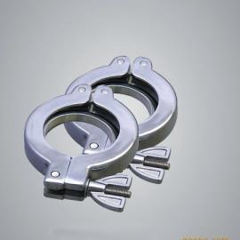 KF真空卡箍、不锈钢中心支架、链式卡箍