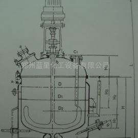 广东K50L-3000L搪玻璃电加热反应罐厂/反应釜厂