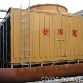厂家供应菱电牌方形横流式低噪音型玻璃钢冷却塔 节能高效