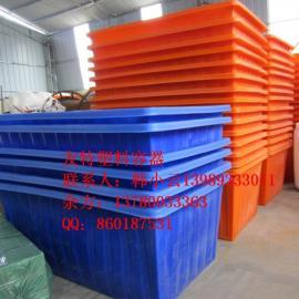 红昇容器,友特容器供应1100L染厂专用的塑料方桶