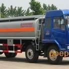 解放二十吨油车解放小三轴前四后八油罐车价格
