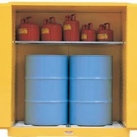 上海油桶专用防爆安全柜|杭州油桶防火安全柜|1桶2桶