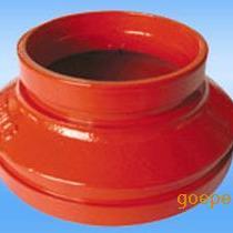内外涂塑沟槽同心异径管规格,沟槽同心异径管生产厂家