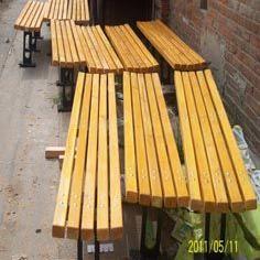 木制座椅 公园座椅 木质座椅