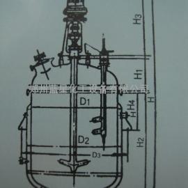 河南搪玻璃反应罐价格/河南搪玻璃电加热反应釜厂家价格