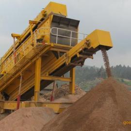 YPS200型建筑垃圾处理设备|YPS200移动破碎站