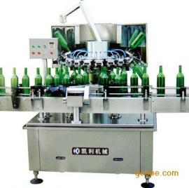 QSP-18优质专业全自动翻转式冲瓶机