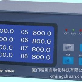 厦门精川MTT型8路液晶巡检仪,水泥厂常用