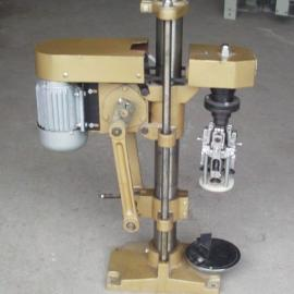 半自动旋盖机 半自动铝盖旋盖机