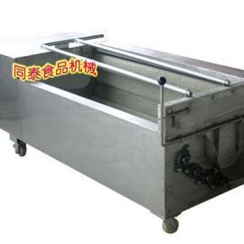 大型土豆脱皮机,自动脱土豆皮机器