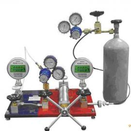 气体减压器校验仪_YB-160C精密压力表_0.02级真空活塞压力计
