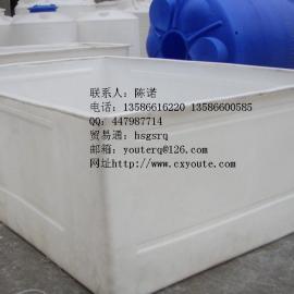 3M*2M*1M大型化工级塑料方桶酸洗槽