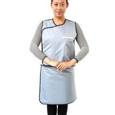 分体双面无袖防护套裙(灰色)DS-08