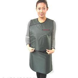 分体双面无袖防护套裙(墨绿色)DS-08