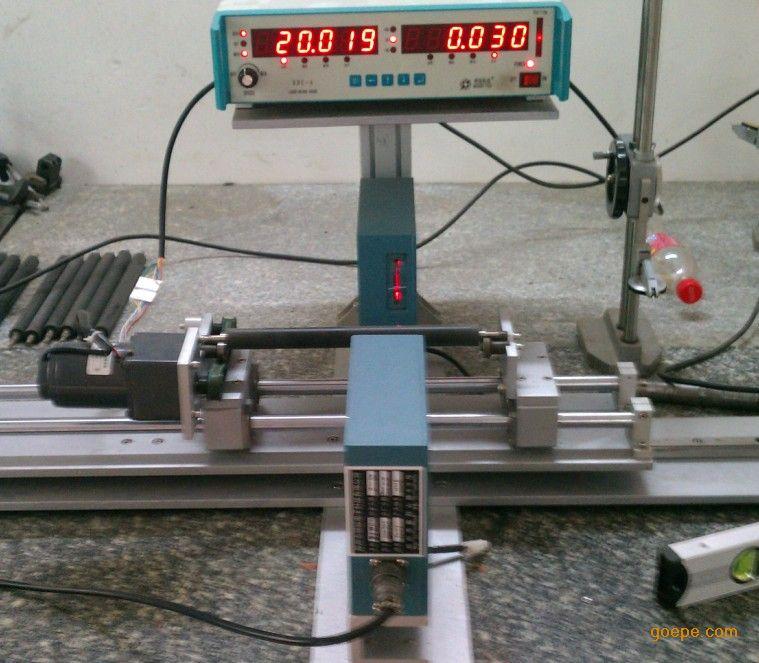轴类轴心检测仪 胶辊跳动测量仪 外径跳动测量 轴心不圆度测量