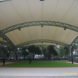 网球场膜结构,门球场膜结构,羽毛球馆膜结构